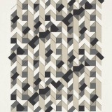 '(2,3,5) Subtractive x 12', Acrylic and ink on paper, 44 x 34cm, May 2012. Photography: Michel Brouet