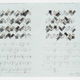 Working Drawing, Acrylic, ink and pencil on graph paper, 29 x 39cm, April 2008,Photography: Michel Brouet.