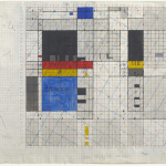Working Drawing, Mixed media on graph paper, 42.0 x 59.5cm (paper size), February 1983. Photography: Michel Brouet.